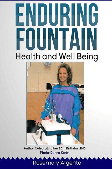 Enduring Fountain By Rosemary Argente